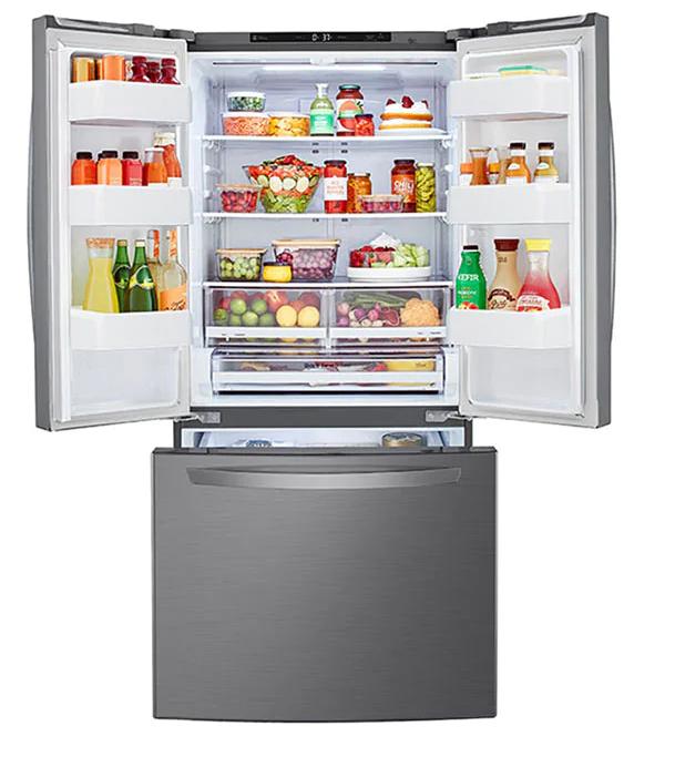 Refrigerador French Door 25p3 LG LM65BGSK