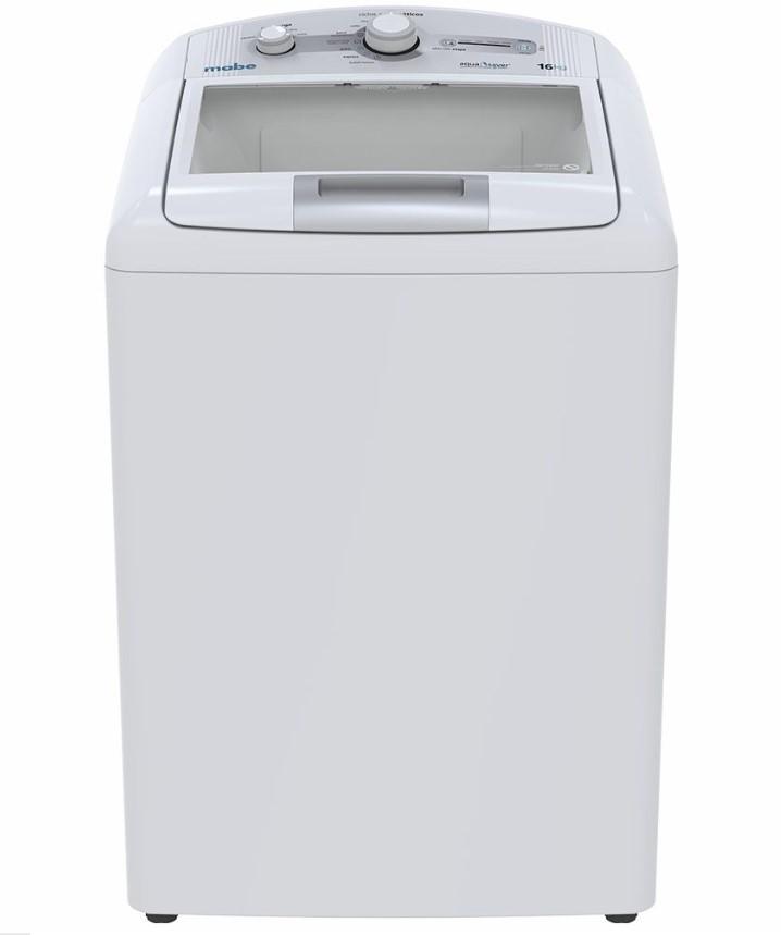 Lavadora automática 16 Kg Blanca Mabe - LMA46102VBAB0