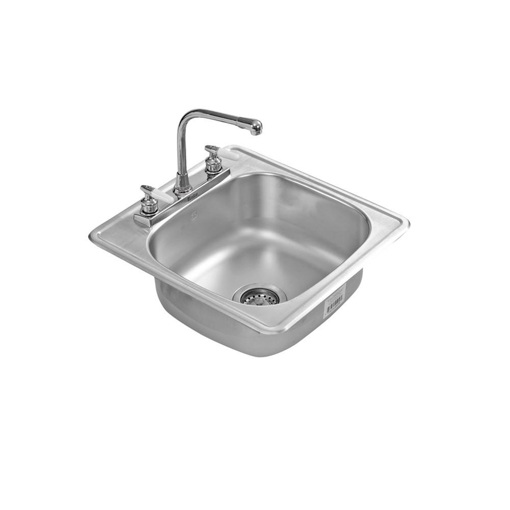 Intermuebles tarja 1 tina eb acero inoxidable c 100 for Llaves de agua para tarjas