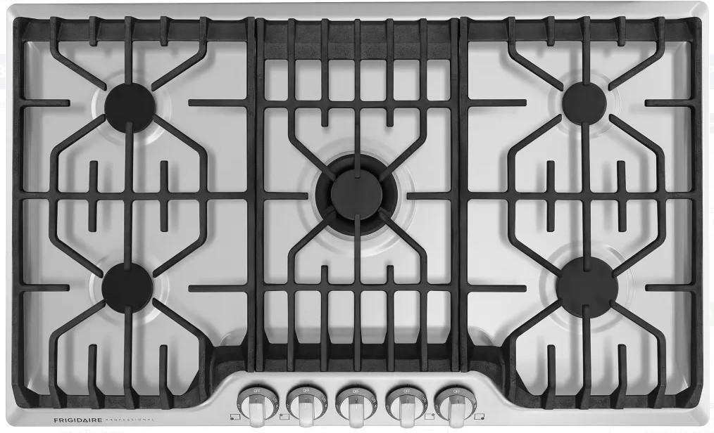 Parrilla de gas acero inoxidable 90cm Frigidaire Profesional FPGC3677RS