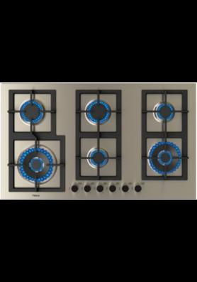 Parrilla de cocción  a gas 90cm Teka mod. EFX 90.1 6G AI AL 2DR CI
